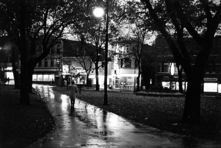 Ian MacEachern, King Square at Night, Saint John, 1964