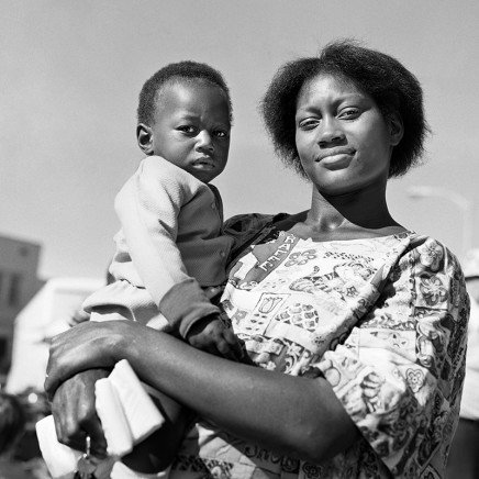 Rosalind Fox Solomon, Scottsboro, Alabama [Mother and Son], 1975