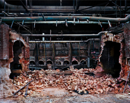 Joseph Hartman, Deconstruction, Don Valley Brick Works #3, Toronto, ON, 2009