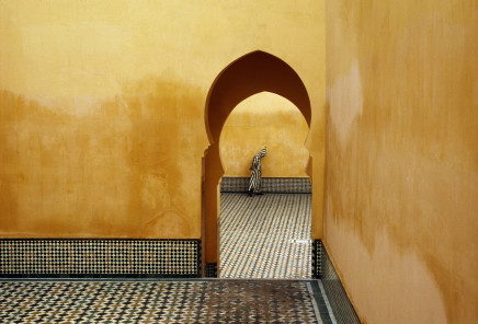 Bruno Barbey, Mausoleum of Moulay Ismail, Meknes, Morocco, 1985