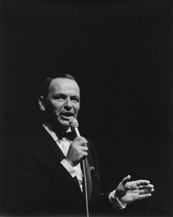 Franz J. Rosenbaum, Frank Sinatra, Newport, RI, 1965