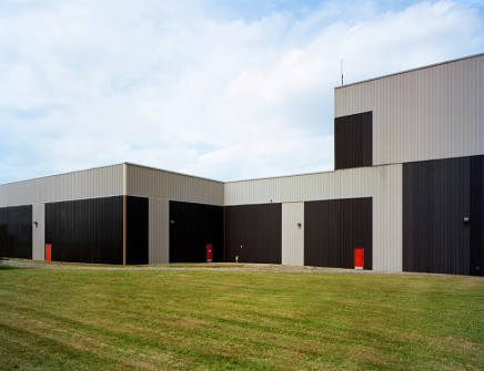 Robert Burley, Warehouse and Photo-Chemistry Building, Ilford, Mobberley, UK, 2010