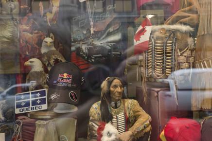 Geoffrey James, Tourist shop, Old Montreal, Quebec, 2011