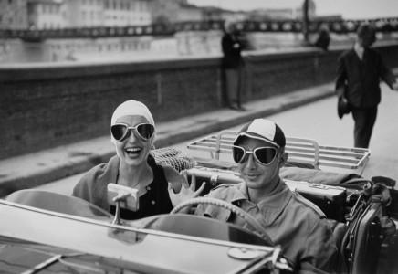 Ruth Orkin, Couple in MG, 1951