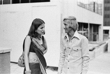 Sunil Gupta, Shalini with Marc, circa 1972