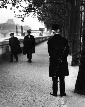 André Kertész, On the Quais, Paris, 1926