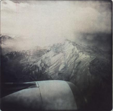 Rita Leistner, View of Himalaya mountain range from airplane, 2011