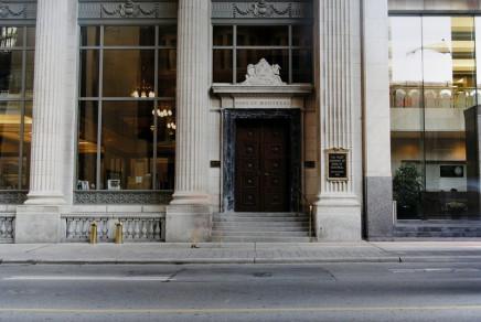 Jeff Thomas, Bank of Montreal, 302 Bay Street, Toronto, Ontario, 2001