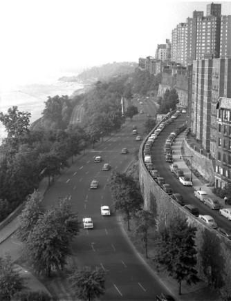 George S. Zimbel, West Side Highway & Riverside Drive, NYC, 1954
