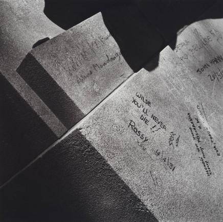 Robert Giard, Grave of Oscar Wilde, Paris, 1991