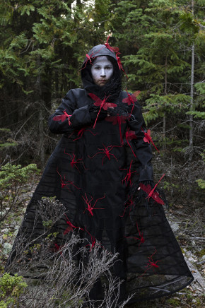 Meryl McMaster, What Will I Say to the Sky and the Earth I, 2019
