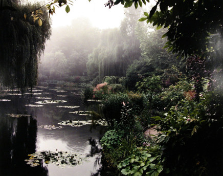 Gabor Szilasi, The Water Garden in early Morning mist, Giverney, summer, 1998