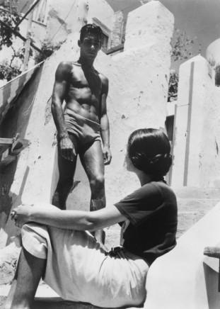 Herbert List, Flirt on Capri, Island of Capri, Italy, 1935