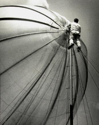 Harry Waddle, Blimpman, circa 1947