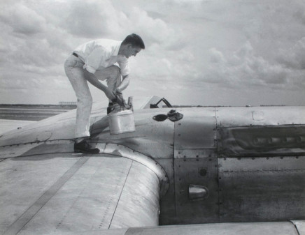 Harry Waddle, Oil Check, circa 1950