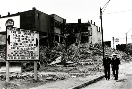 Ian MacEachern, Urban Renewal, North End, Saint John, NB, 1968/2002
