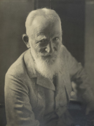 Violet Keene Perinchief, George Bernard Shaw, circa 1934