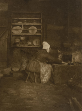 Minna Keene, In the Kitchen, circa 1895