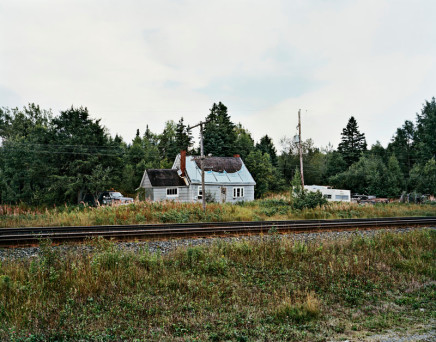 Joseph Hartman, House by Tracks, Heron Bay, ON, 2010