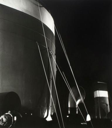 Herbert List, Nocturnal Mooring Marine Structures, Hamburg, Germany, 1930