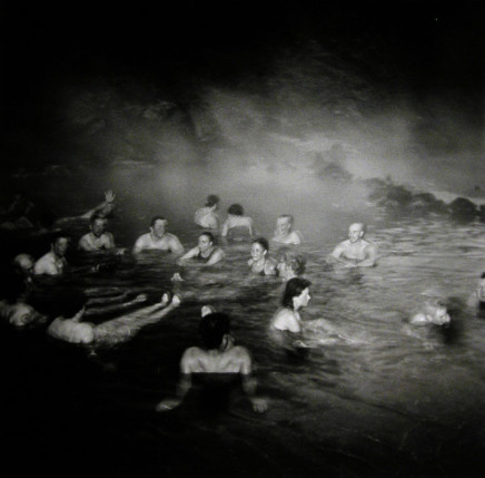 Ruth Kaplan, Hot Spring, Landmarnnslauger, Iceland [crowd of people], 2002