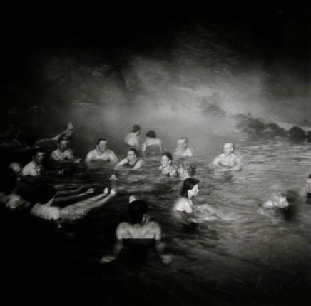 Ruth Kaplan, Hot Spring, Landmarnnslauger, Iceland [crowd of people], 2002