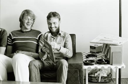 Sunil Gupta, John and Jerry at 3425 Stanley, circa 1975
