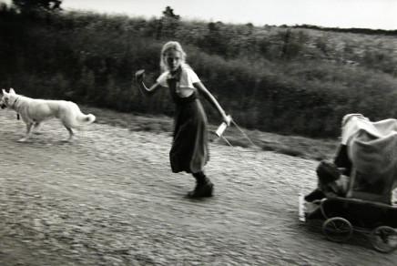 Larry Towell, White Dog, Lambton County, Ontario, Canada, 1990