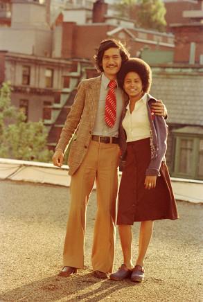 Sunil Gupta, Sunil with Cheryl, circa 1974
