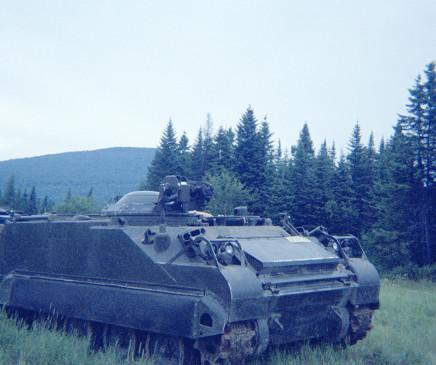 Sunil Gupta, Tank, Canadian Forces Base Valcartier, circa 1971