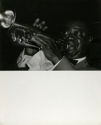 Franz J. Rosenbaum, Louis Armstrong, Brant Inn, Burlington, July 1969