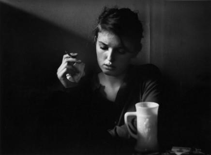 Dave Heath, Jennine Pommy Vega, 7 Arts Coffee Gallery, New York City, 1959
