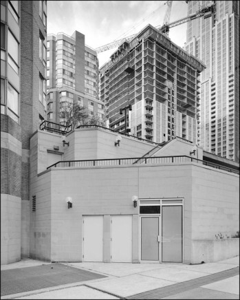 Dario Zini, Vicinity of Gerrard St. W. at Bay - View Northwest, 2006