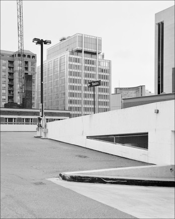 Dario Zini, Vicinity of Pearl St. and Simcoe St. - View North, 2009