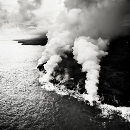 Josef Hoflehner, Ocean Lava Entry 3, Hawaii, 2008