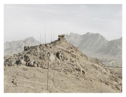 Donovan Wylie, OP 1a. Forward Operating Base, Masum Ghar, Kadahar Province, Afghanistan, 2010
