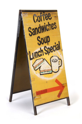 Anthony Koutras, Sandwich Board, 2013