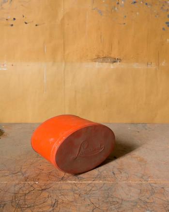 Joel Meyerowitz, Morandi's Objects (red oval tin), 2015