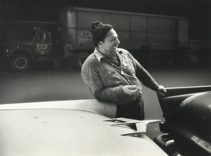 Lutz Dille, New York - Truck Driver, 1959