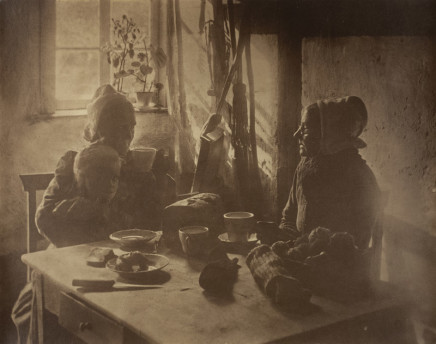 Minna Keene, Visitor, circa 1895