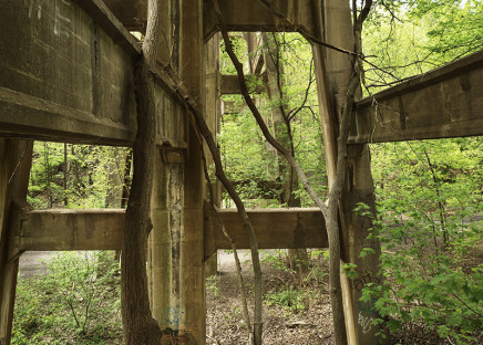 Robert Burley, Railway bridge, Moore Park Ravine, 2014