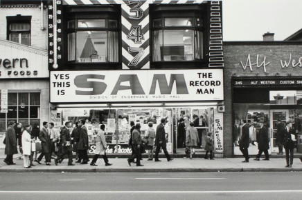 Albert Kish, Toronto [Sam the Record Man], 1965