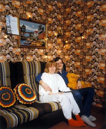Pekka Turunen, Leena Maksimainen ja Mauri Pesonen, Hattuvaara Ilomantsi [A Young Couple], 1986