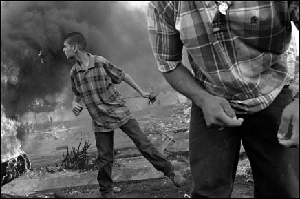 Larry Towell, Ramallah, West Bank, 2000