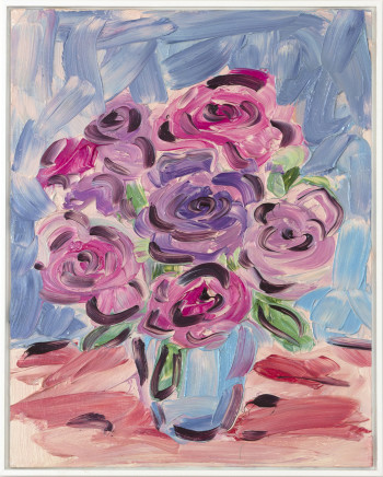 Kirstin Carlin, Untitled (Bev's Roses), 2019