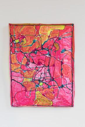 Miranda Parkes, pink boi-under the pump, 2017