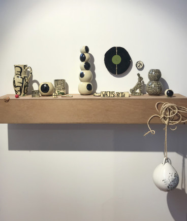 Martin Poppelwell, Object Show - new pottery display, 2019