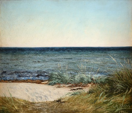 Laurits Andersen Ring, View from Greve Beach, 1911