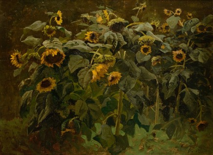 Valentin Ruths, Sunflowers, Undated