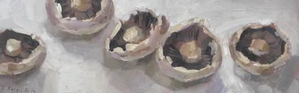 Alice Boggis-Rolfe, FIVE MUSHROOMS